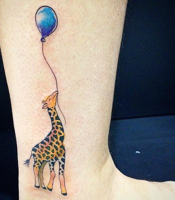 Giraffe foot tattoo - photo#53