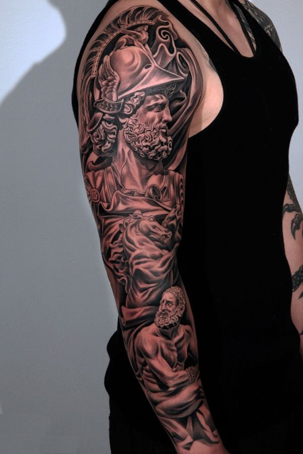 Greek tattoos designs ideas and meaning tattoos for you for Forearm tattoo sleeves