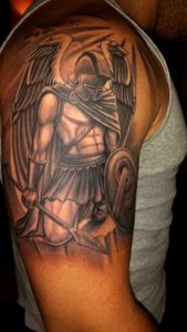 Greek Spartan Tattoos