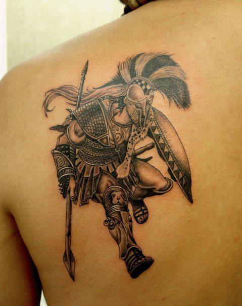 three codes greek warrior