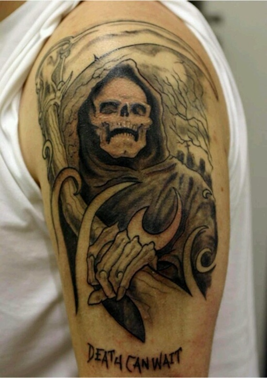 2bf3add06 Grim Reaper Tattoos Designs, Ideas and Meaning   Tattoos For You
