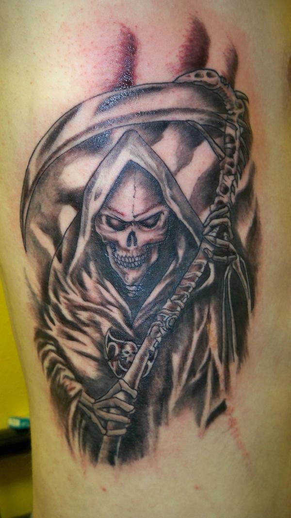 grim reaper tattoo 4