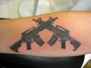 Guns Tattoos