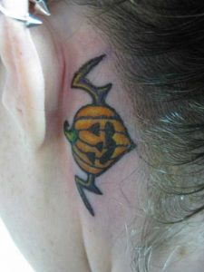 Halloween Tattoos Small