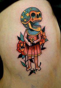 Halloween Tattoos for Girls