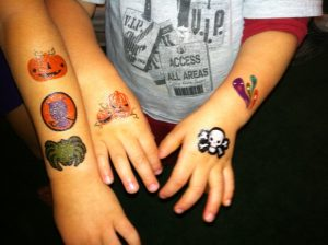 Halloween Tattoos for Kids