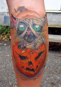 Halloween Tattoos for Women