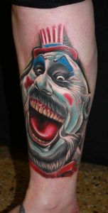 Happy Clown Tattoos