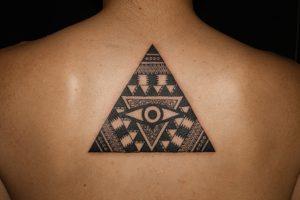 Hawaiian Triangle Tattoo