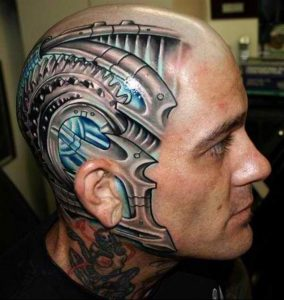 Head Tattoos Designs