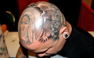 Head Tattoos Images