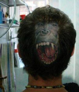 Head Tattoos Under Hair