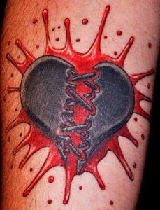 Heart Broken Tattoos