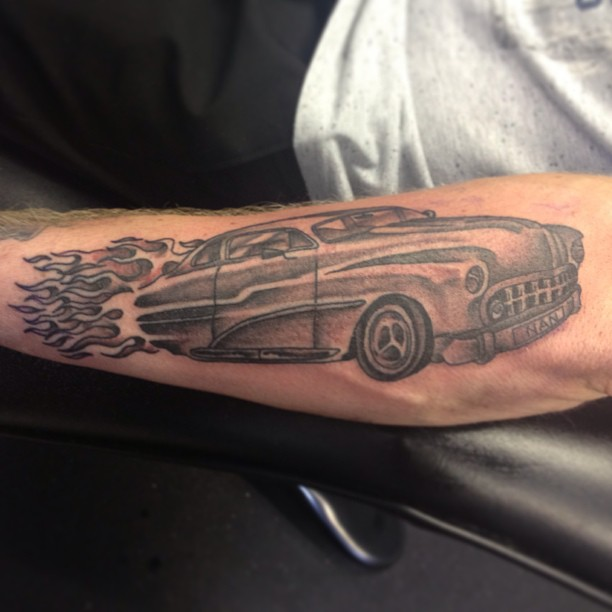 Flame Tattoos Designs Ideas And Meaning: Hot Rod Tattoos Designs, Ideas And Meaning