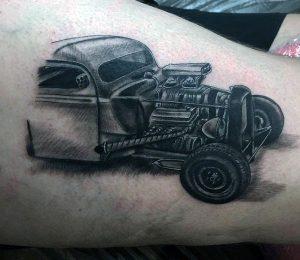Hot Rod Tattoo Designs