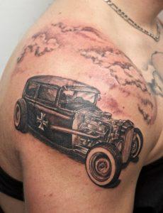 Hot Rod Tattoo Ideas