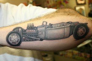 Hot Rod Tattoo Images