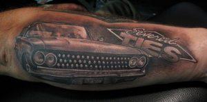 Hot Rod Tattoo Sleeve