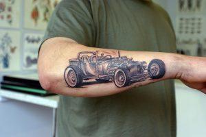 Hot Rod Tattoos