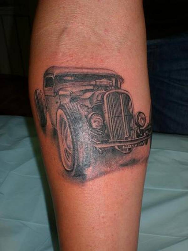 Hot Rod Tattoos Designs Ideas And Meaning Tattoos For You