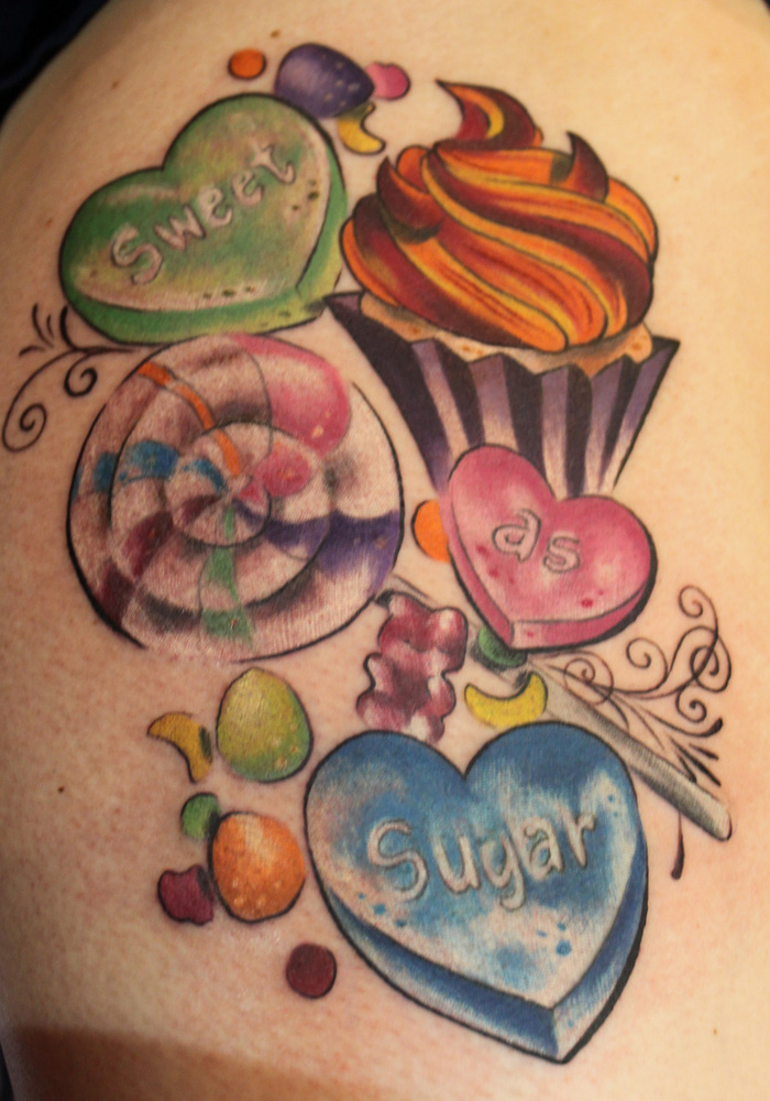 Candy Tattoos Designs Ideas And Meaning Tattoos For You