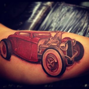 Images of Hot Rod Tattoo