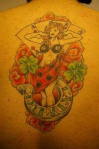 Images of Lady Luck Tattoo