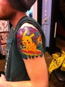 Images of Pokemon Tattoos
