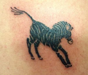 Images of Zebra Tattoo