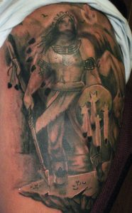Indian Warrior Tattoo
