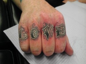 Knuckle Tattoos Ideas