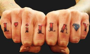 Knuckles Tattoo