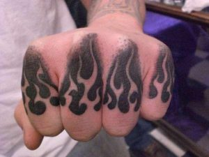 Knuckles Tattoos