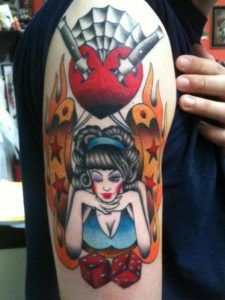 Lady Luck Tattoo Images