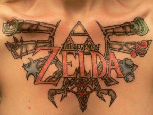 Legend of Zelda Tattoo Designs