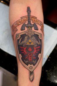 Legend of Zelda Tattoo Ideas