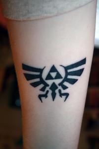 Legend of Zelda Tattoos