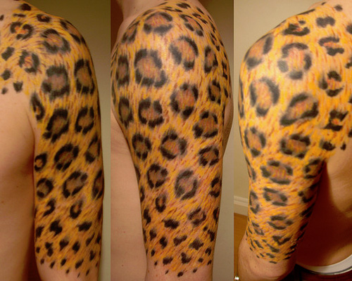 leopard print tattoos designs ideas and meaning tattoos for you. Black Bedroom Furniture Sets. Home Design Ideas