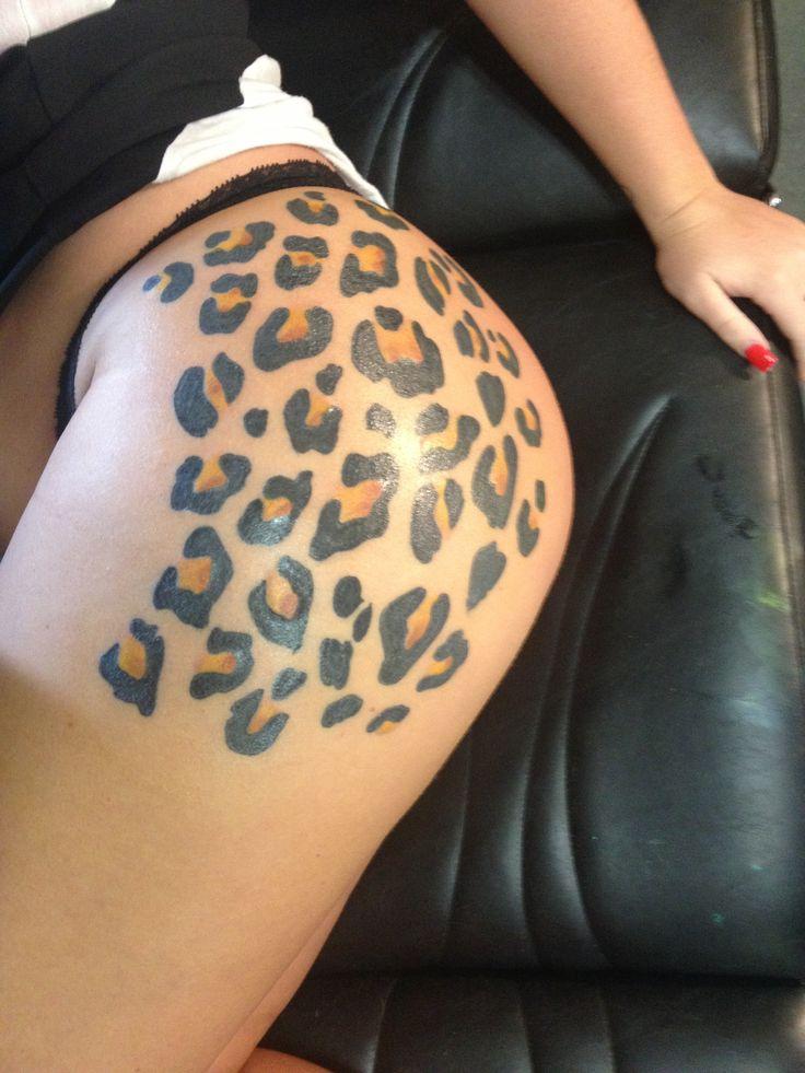 Leopard Tattoo Designs On Hip