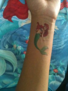 Little Mermaid Tattoos Wrist