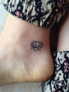 Lotus Flower Tattoo Small