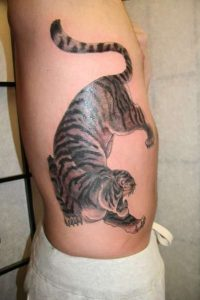 Male Rib Cage Tattoos