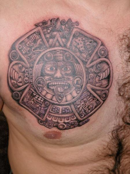 Mayan Tattoos Designs Ideas And Meaning Tattoos For You