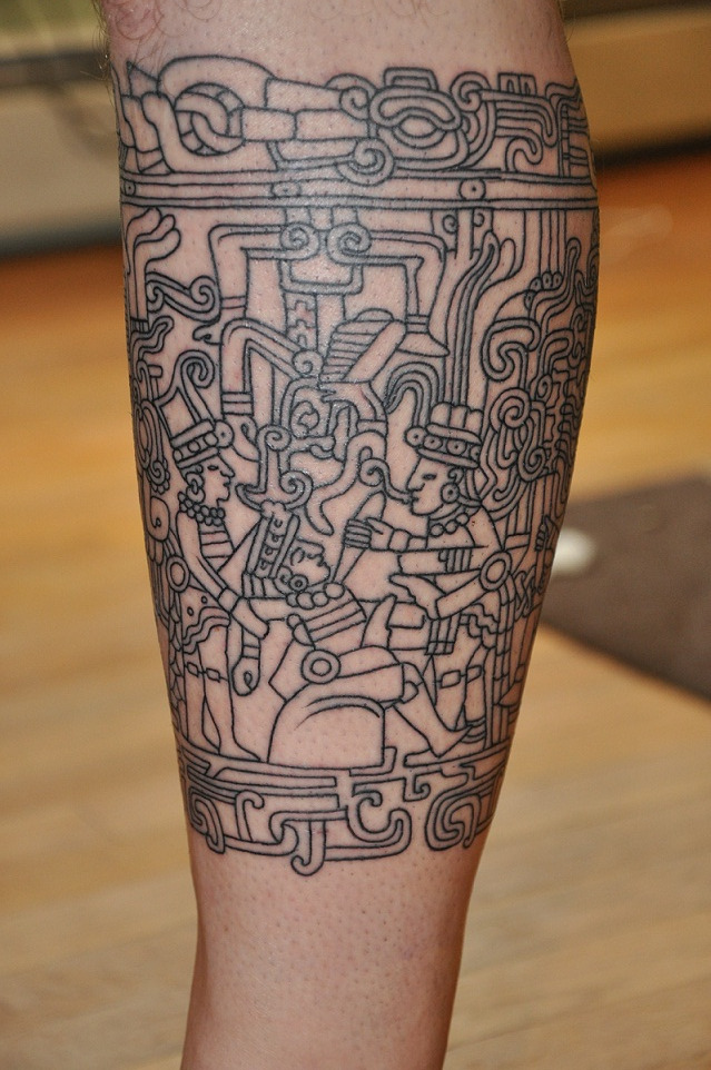 Aztec Band Tattoos Mayan Tattoos Designs,...