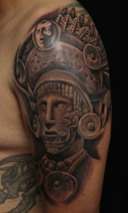 Mayan Warrior Tattoo