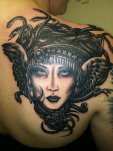 Medusa Tattoo Images