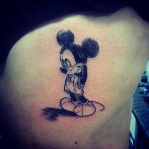 Mickey Mouse Tattoo Ideas