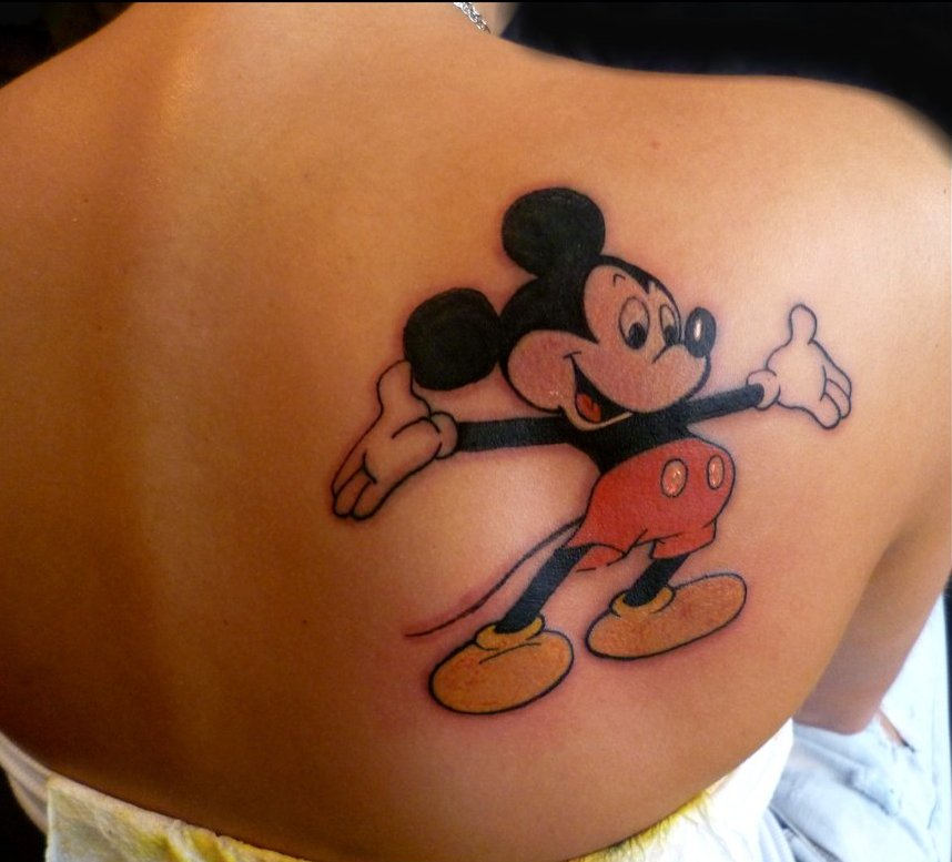 Mickey Mouse Tattoos Designs Ideas And Meaning Tattoos For You