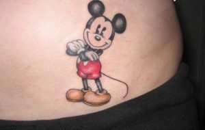Mickey Mouse Tattoos for Girls