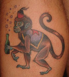 Monkey Tattoos Pictures